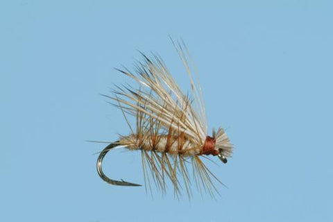 Elk Hair Caddis Dry Fly Trout Flies Tan