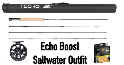 Echo Boost Saltwater Outfit