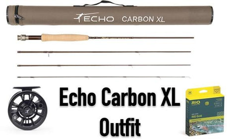 Echo Carbon XL Outfit - Fly Fishing Rod Reel Outfits