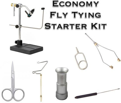 Dakota Angler Economy Beginners Fly Tying Tool Set