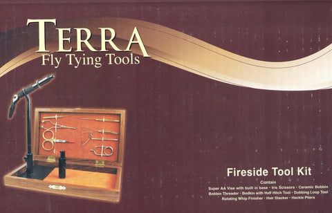 terra fireside fly tying tool kit