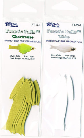 Fish Skull Frantic Tails 8-Pack