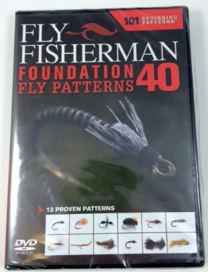 Fly Fisherman Foundation Fly Patterns DVD