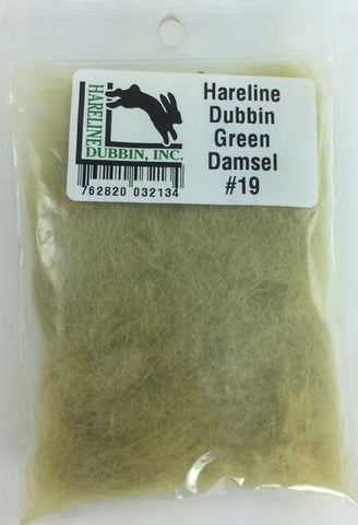 Hareline Dubbin Fly Tying Material SCUD Dub SCUD263 Olive for sale online