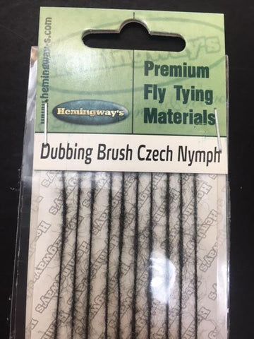 Hemingway Czech Nymph Dubbing Brush Black