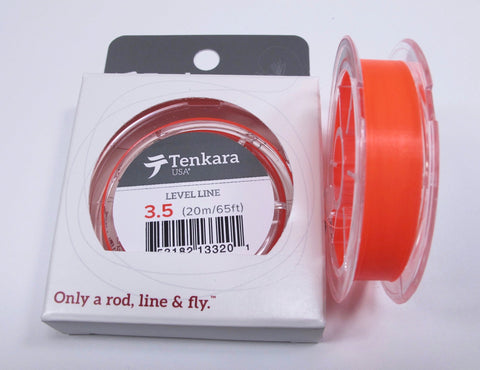 Tenkara USA High-Visibility Level Line Orange 3.5