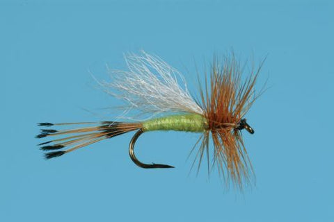 Lime Trude Dry Fly