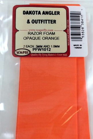 Wapsi Razor Foam opaque orange