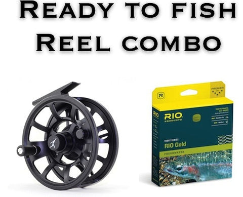 Echo Ion Reel With Line Ready to Fish Fly Fishing Reel