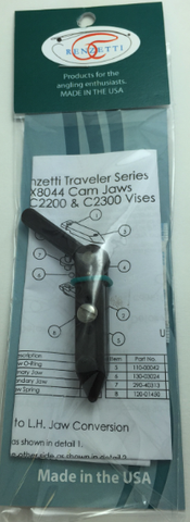 Renzetti Traveler Cam Jaw Assembly X8044 Hook sizes 28-4/0