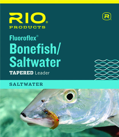 Rio Fluoroflex Bonefish/Saltwater Leader 9 ft.