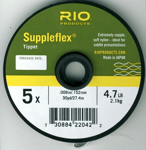 Rio Suppleflex Tippet Fly Fishing