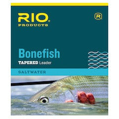 Rio Bonefish Leader 10ft 3 pack Fly Fishing Saltwater