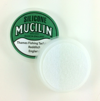 Mucilin Silicone Green Can Open