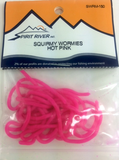 Squirmy Wormie Hot Pink