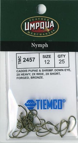 Tiemco 2457 Hook 25 Pack