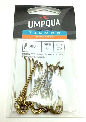 Tiemco 300 Hook 25 Pack