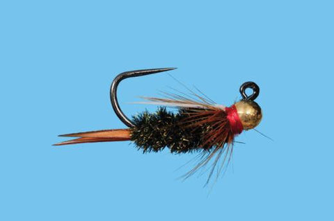 tungsten jig prince nymph trout fly czech nymph