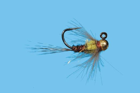 Tungsten Jig Yellow Spot Nymph