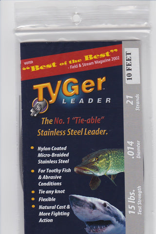 Tyger Wire Leader 15#