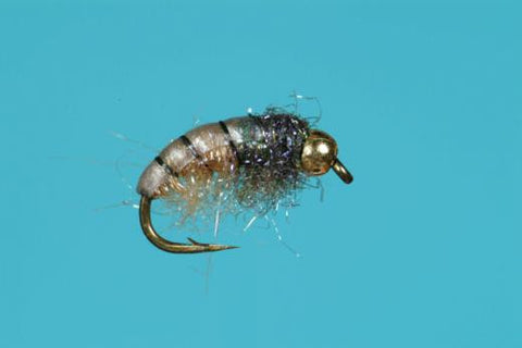 UV Czech Nymph Tan Tungsten Bead
