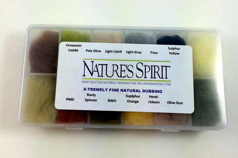 Nature's Spirit X-tremely Fine Dubbing Dispenser- 12 colors