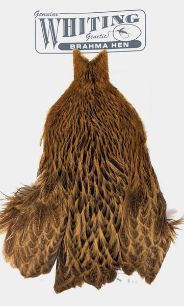 Silver Badger *NEW* Whiting Brahma Hen Cape