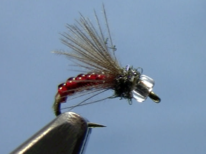 CDC Midge Emerger trout fly