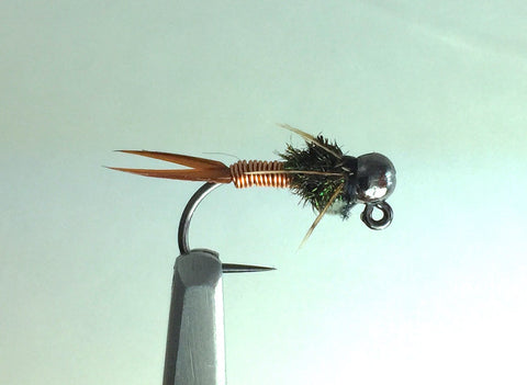 Tungsten Jig Copper John Nymph 14