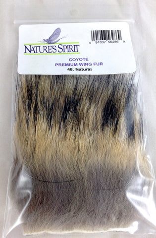 nature's spirit coyote hair fly tying