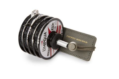 Umpqua ZS2 Tippet Dock/Holder Olive