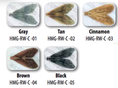 Hemingway Realistic Caddis Wings Fly Tying
