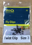 Rio Fly Clips - Twist Clips