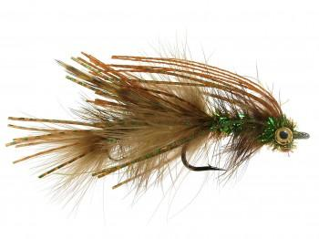 Jointed Urchin Olive Size 4 Yellowstone Fly Goods