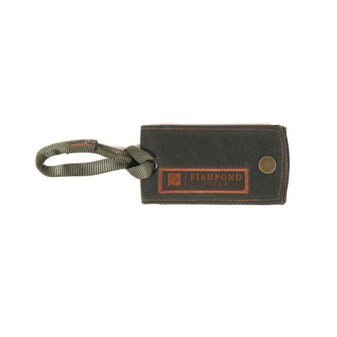 Fishpond FP Field Luggage Tag - Peat Moss