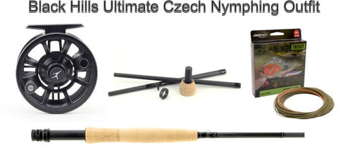 Czech Nymphing Outfit Echo Shadow II Kit Rod Reel Line