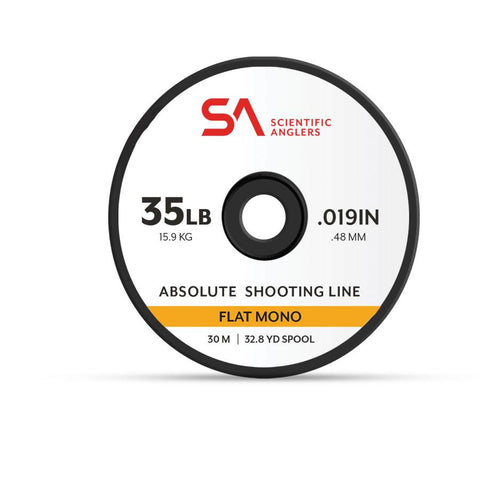 Scientific Anglers Absolute Flat Shooting Line 30m