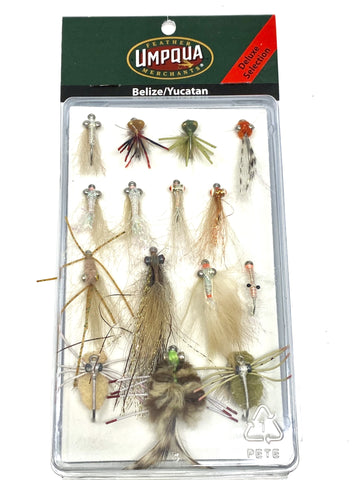 Belize/Yucatan Deluxe Flats Fly Assortment