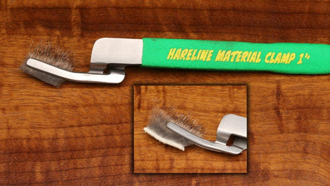 Small 1 Inch Hareline Material Clamp Set