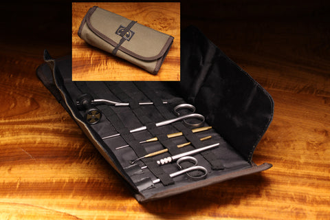 Roll Up Fly Tying Tool Pouch