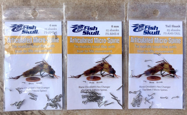 Chocklett/'s Articulated Micro Spine 8mm Tail /& Starter Pack Game Changer 6mm