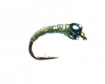 Green Weenie Midge Pattern Bighorn River Trout Fly