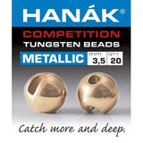 Hanak Metallic+ Slotted Tungsten Beads 20 pack