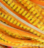 Hareline Dubbin Tiger Barred Rabbit Strips 1/8""