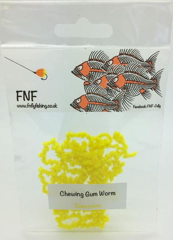 FNF Chewing Gum Worm Chenille 3mm sweetcorn