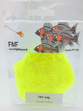 FNF Jelly Fritz 15mm blob chenille atomic yellow