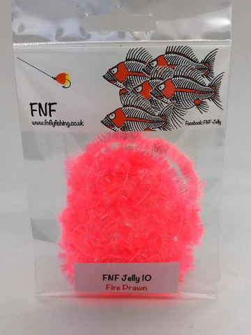 FNF 10mm jelly fire prawn blob chenille