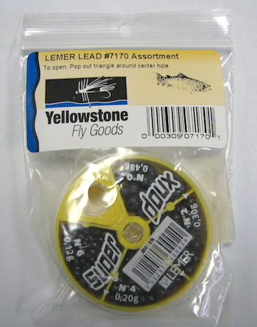 lemer lead split shot fishing weight sinker