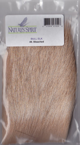"Nature's Spirit Bull Elk Hair 3X4"" Fly Tying"