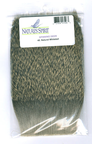 Nature's Spirit Spinning Deer Hair Natural